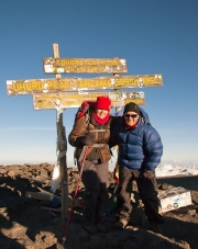 Mt Kilimanjaro - 5895 Metres